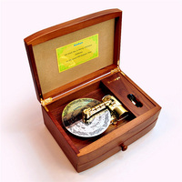 22 Note Wooden Disc Music Box With 3 Discs Electronic Type Rotating Music Box Christmas Souvenir