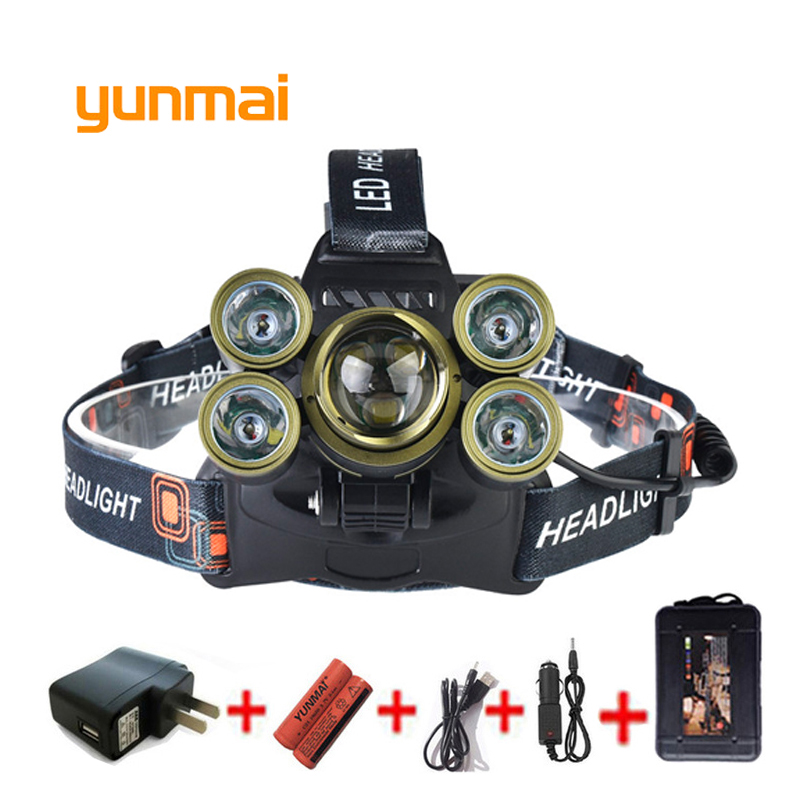 USB 20000 Lumen 7 Led Headlamp 3*NEW XML T6+4Q5 Head Lamp Powerful Led Headlight Zoom Head Torch 18650 Battery Fishing Hunting sitemap 146 xml page 7