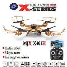L MJX X401H Quadcopter RC Drone X-Série 2.4 Ghz 6-axis Gyro Sans Fil HD Vidéo en temps Réel WiFi FPV0.3MP Caméra Livraison Gratuite