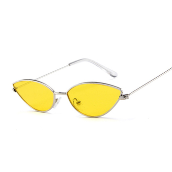 Cute Sexy Cat Eye Sunglasses Women Retro Small Black Red Pink Cateye Sun Glasses Female Vintage Shades For Women 8