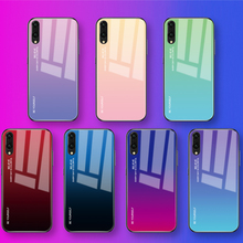 Gradient Tempered Glass Coque For Huawei Honor 8X P30 P20 Li