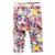 3 pintura de Tinta de Color flores Del Bebé de Las Muchachas pantalones Lápiz cinturón pantalones al por mayor