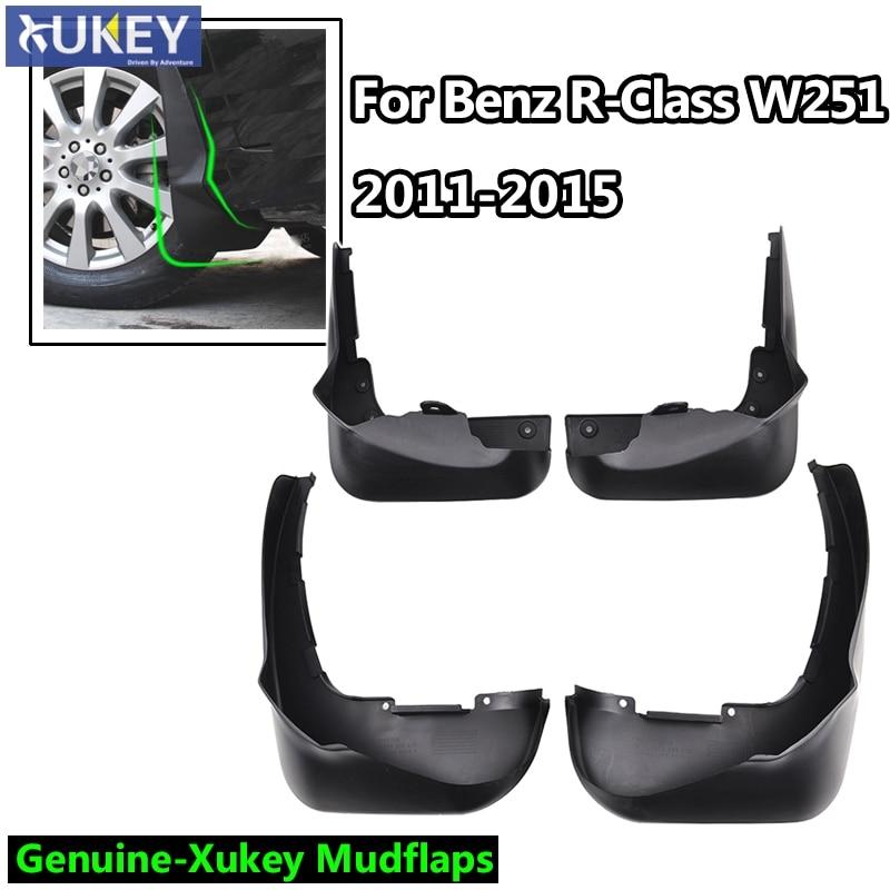 Set of 4 W//RB Mercedes-Benz OEM Mud Flaps Splash Guards 2012-2015 M-Class W166