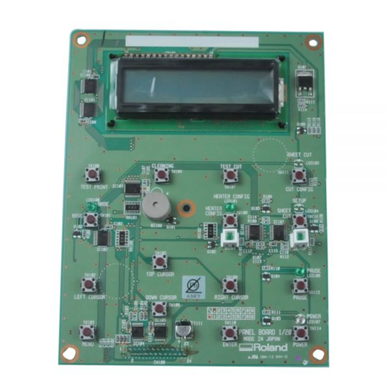Original Roland SP-300 / SP-300V / SP-540V Panel Board-W840605010 original roland feed motor for sp 300 sp 540v 7876709020