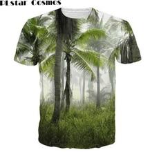 Palm Tree Forest T-Shirt Women 3D Print t shirt Men's Tops Casual tshirts Fashion Clothing tees