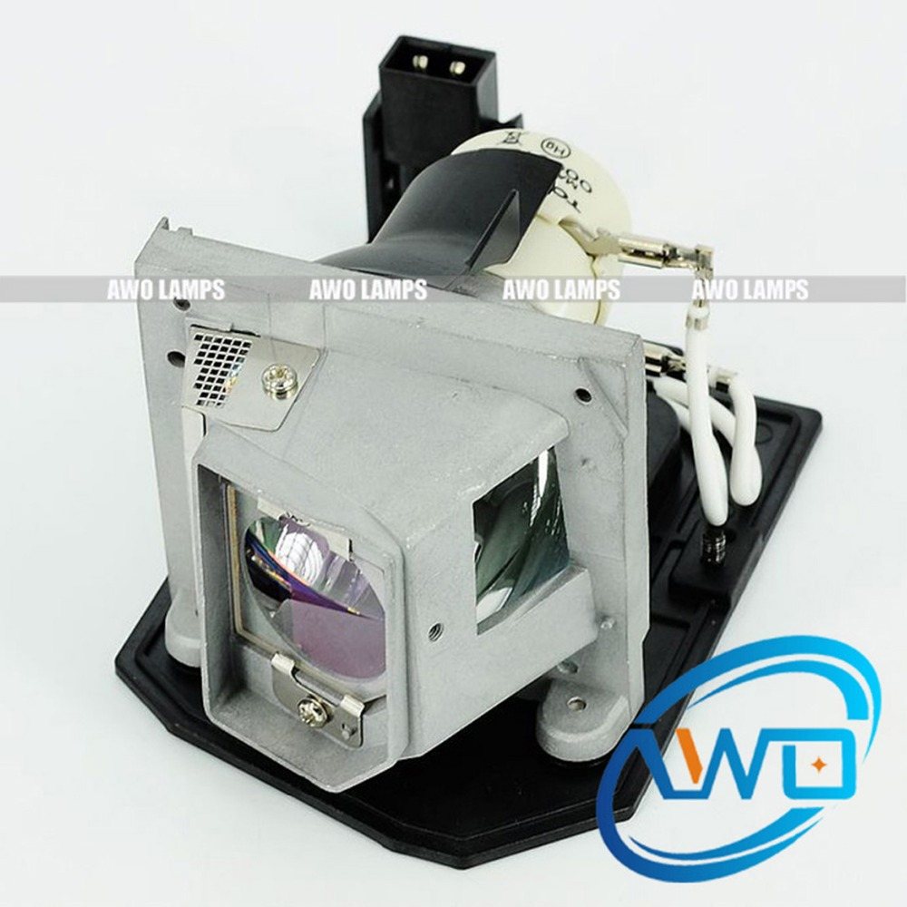 AWO 100% Original Projector UHP Bulb with Housing 610-346-4633 / LMP138  Lamp for SANYO PDG-DWL100/PDG-DXL100 Projectors lamp housing for sanyo 610 3252957 6103252957 projector dlp lcd bulb