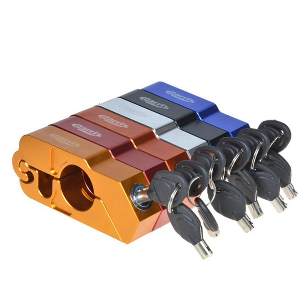 Universal Motorcycle Handlebar Anti Theft Lock For SUZUKI Sv 1000 Bandit 1200 Gsx-r1000 For HONDA Cb 500f Cbf 1000f Nc 750s Etc.