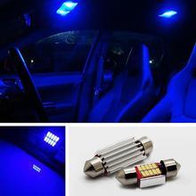 NEW 2Pcs White Light High Power LED Festoon Bulbs for Car Dome Map Lamp 31-41mm