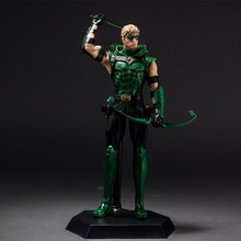10″ New Justice League JLA Green Arrow Superman Boxed PVC Anime Action Figure Model Collection Toy Gift