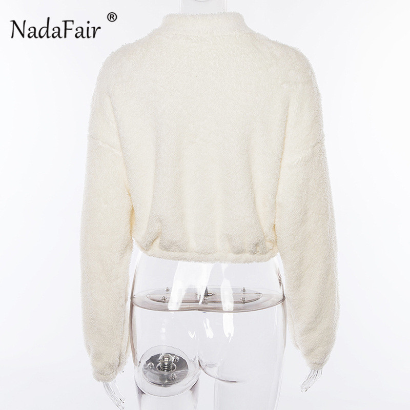 white zipper turtleneck hoodies11