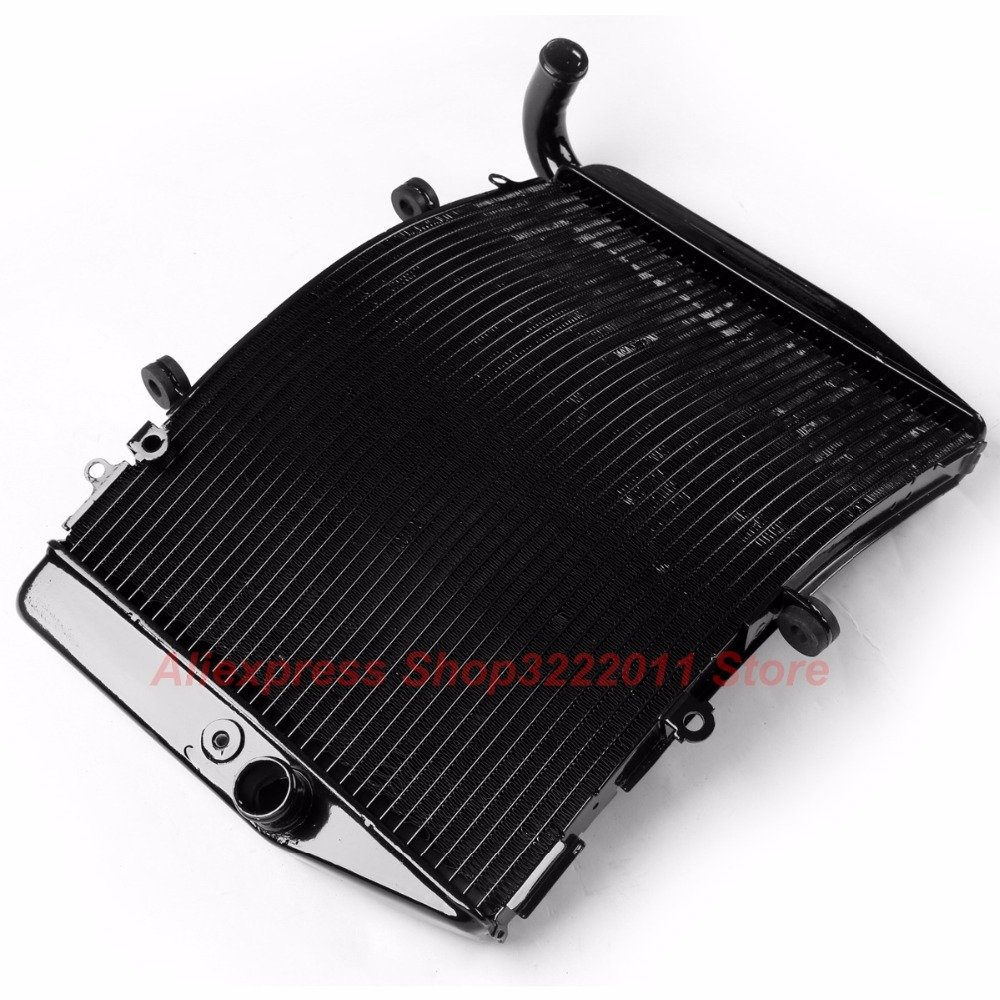 Motorcycle Radiator for HONDA CBR600RR 2007 2008 2009 2010 2011 Aluminum Water Cooler Cooling Kit arashi motorcycle radiator grille protective cover grill guard protector for 2008 2009 2010 2011 honda cbr1000rr cbr 1000 rr
