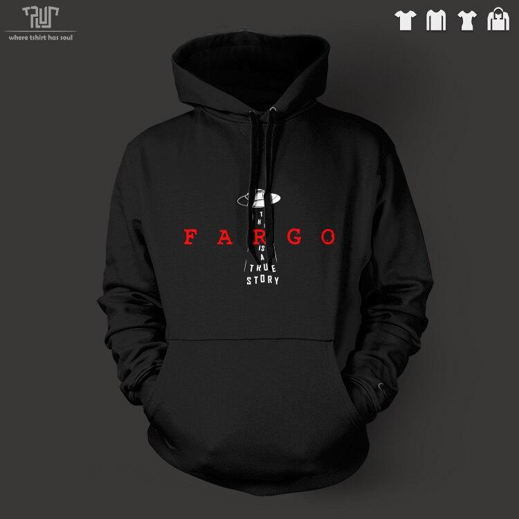 fargo true story season 2 ufo original design pullover hoodie men unisex 10.3oz 82% cotton fleece high quality Free Shipping