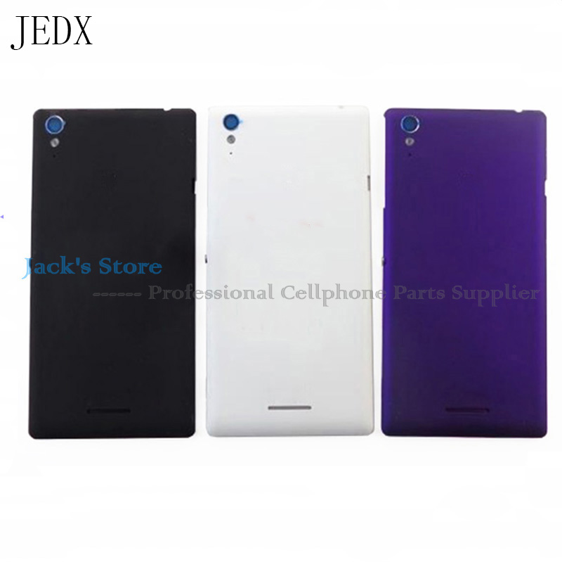 JEDX Battery Cover Case For Sony Xperia T3 D5102 D5103 D5106 Rear Battery Door Back Cover Housing + NFC Tools
