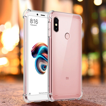 Soft TPU Clear Case For Xiaomi Redmi Note 6 5 Pro 6A 5 Plus