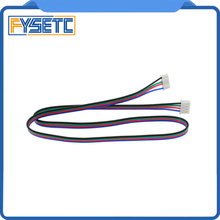 5 adet DuPont Hattı HX2.54 4pin 50 cm veya 80 cm veya 100 cm için 6pin Beyaz Terminali Step Motor Kablosu için Step Motor 3d Yaz...
