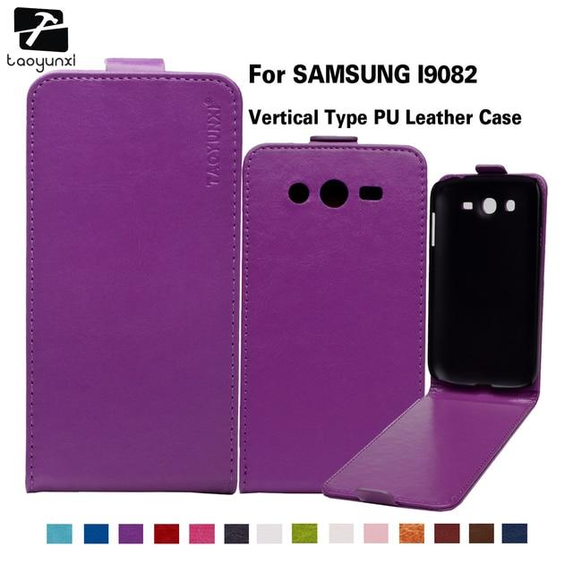 TAOYUNXI Case For Samsung Galaxy Grand Z I9082 I9080 Neo Plus Cover I9082Z I9060I I9060 I9062 I9060I 9082 9080 PU Leather Case