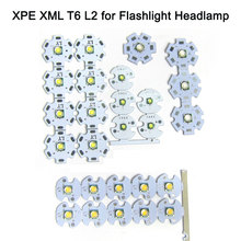 1PCS 3W 10W CREE XM-L2 T6 Chip LED Cold White 6500K Warm White 3000K LED Emitting Diode for LED Flash Light DIY Headlamp 30w cree xlamp 3 series xm l2 xml2 t6 cool white warm white neutral white led light on 50mm pcb board for diy flashlight torch