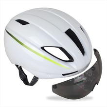 Free shipping 4 colors Aero Ultra-light Cycling Helmet Road Bicycle Helmet With Adjusable Sun Visor UN Size 56-61cm