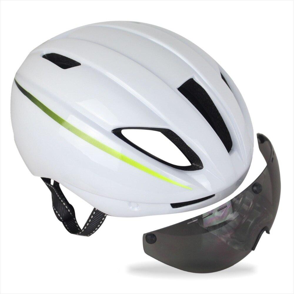 Livraison gratuite 4 couleurs Aero Ultra-léger Casque de Vélo Route Casque De Vélo Avec Adjusable Pare-Soleil des NATIONS UNIES Taille 56-61 cm