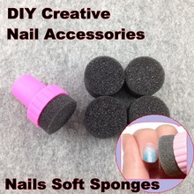 HTHL Nail Art Tools, Nails Soft Sponges For Color Fade Manicure, DIY Creative Nail Accessories Supply + Free Shipping (NR – WS1)