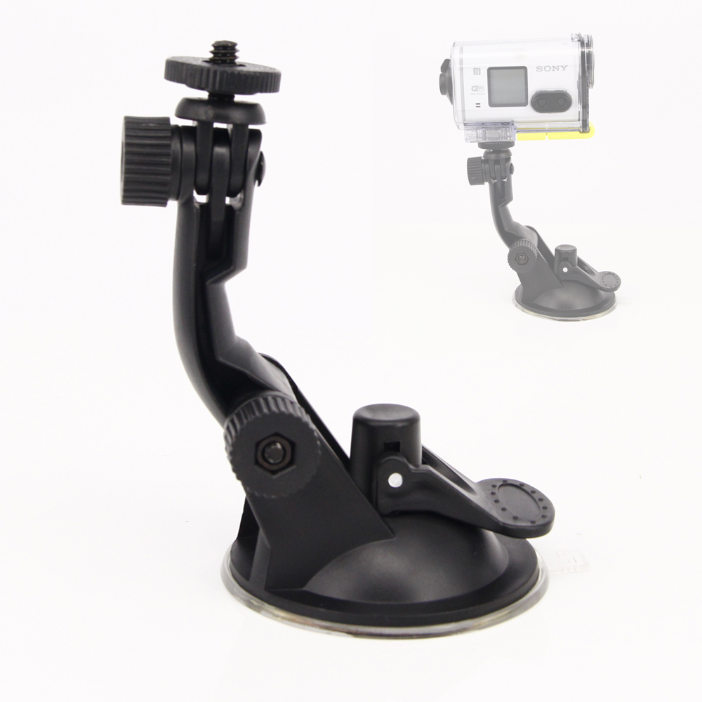 Universal Car Mount Holder Suction Cup Mount Sucker For Sony action cam for Sony HDR AS100v