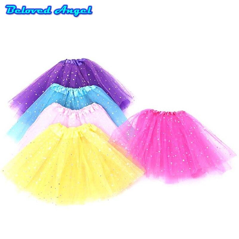 100% QualitäT 2019 Mädchen Tutu Rock Flauschigen Kinder Ballett Kinder Pettiskirt Baby Mädchen Röcke Prinzessin Tüll Party Dance Röcke Für Mädchen Günstige