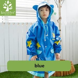 Image 2 - Kocotree นักเรียนกระเป๋าเป้สะพายหลัง Raincoat เด็กทารกการ์ตูน Rainproof Rain Coat หญิงและชายกันน้ำ Poncho Rain Cover