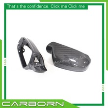 For Audi A4 B8.5 A5 S5 RS5 2010- 2014 Replacement Style Carbon Fiber Mirror Cover Rear View Side Mirrors with Turn Light Signal