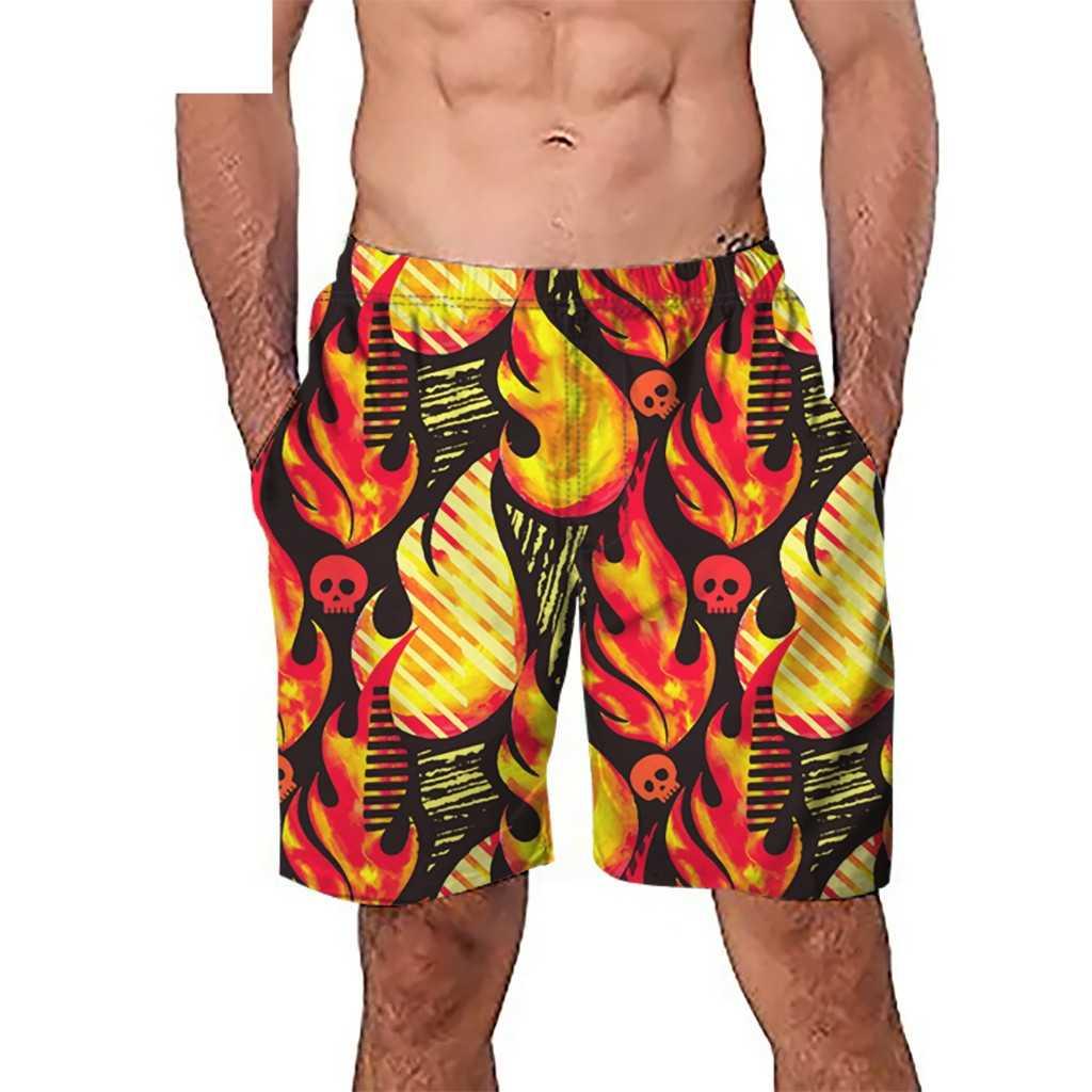 JAYCOSIN 2019 mężczyźni na co dzień 3D Graffiti drukowane plaża pracy na co dzień mężczyźni krótkie spodnie spodenki spodnie 19Feb13