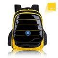 Pupil A Bag Korean Children A Bag PU Skin Schoolboy Boy Lovely Both Shoulders Package Alleviate Excessive Burden Backpack