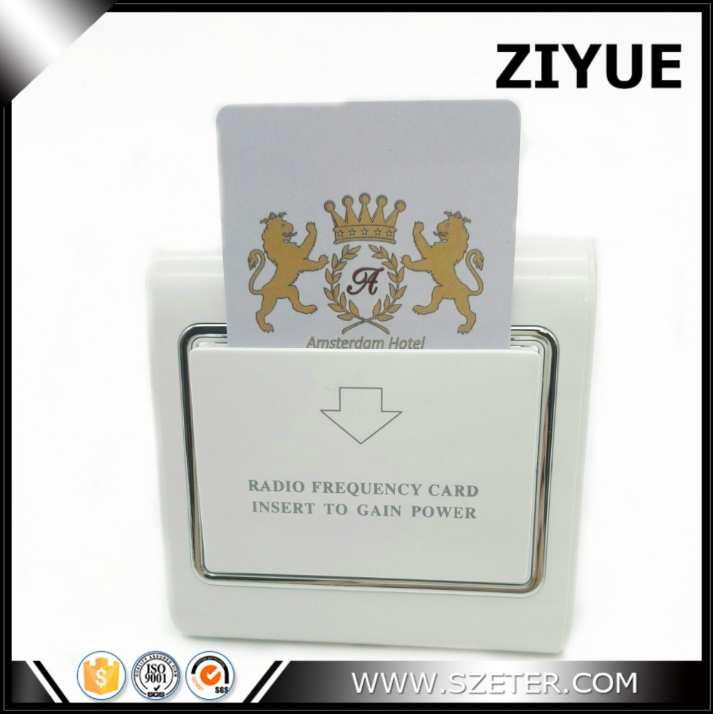 Digital RFID Energy Saver Hotel Card holder Switch Card Key Holder for Hotel with key non standard die cut plastic combo cards die cut greeting card one big card with 3 mini key tag card
