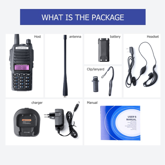 Купить baofeng uv 82 рация двойная ptt портативная двухсторонняя радиостанция картинки