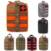 Wasserdichte Outdoor Reise Sport Camping Notfall Überleben Kit Military First Aid Kit Taktische Medizinische Tasche Überleben Getriebe-in Sicherheit und Überleben aus Sport und Unterhaltung bei