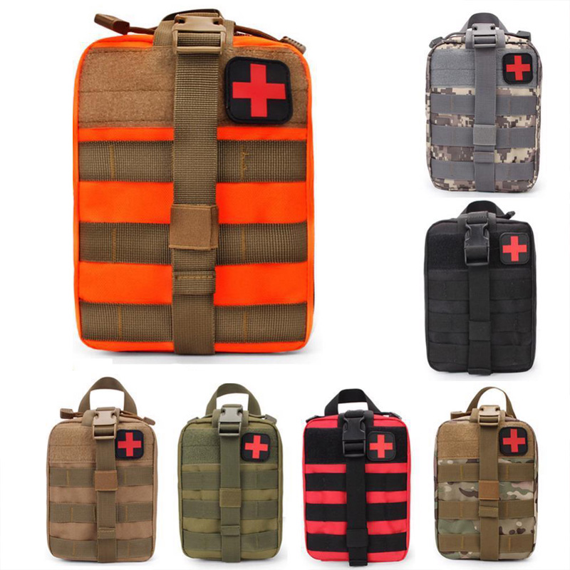 Waterproof Outdoor Travel Sports Camping Emergency Survival Kit Military First Aid Kit Tactical Medical Bag Survival Gear