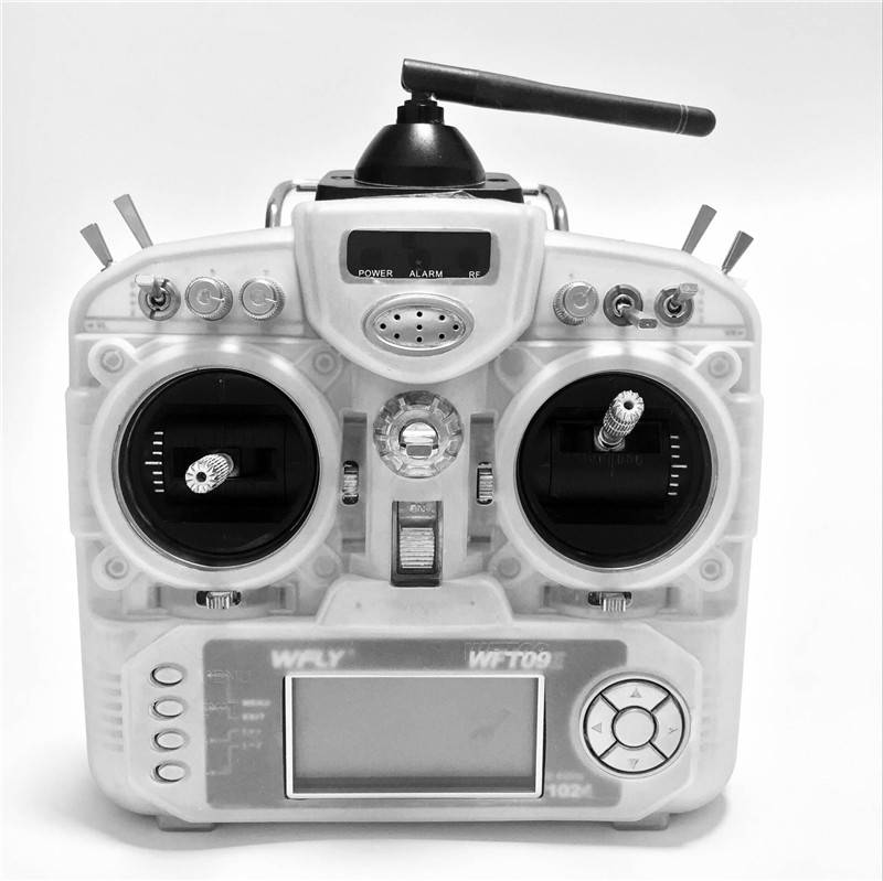 Silicon Protection Case for WFLY WFT09SII 2.4G 9CH Remote Controller RC Transmitter Cover Skin Portector rc transmitter bag radio controller remote case for futaba flysky wfly radiolink at9 at10 t6 th9x 33cm x 23cm x 12cm
