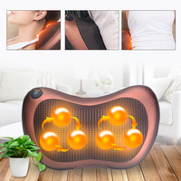 8/6/4 Head Shiatsu Massage Cushion Back Neck Massager Home Car Waist Body Electric Multifunctional Massager Relaxation Pillow