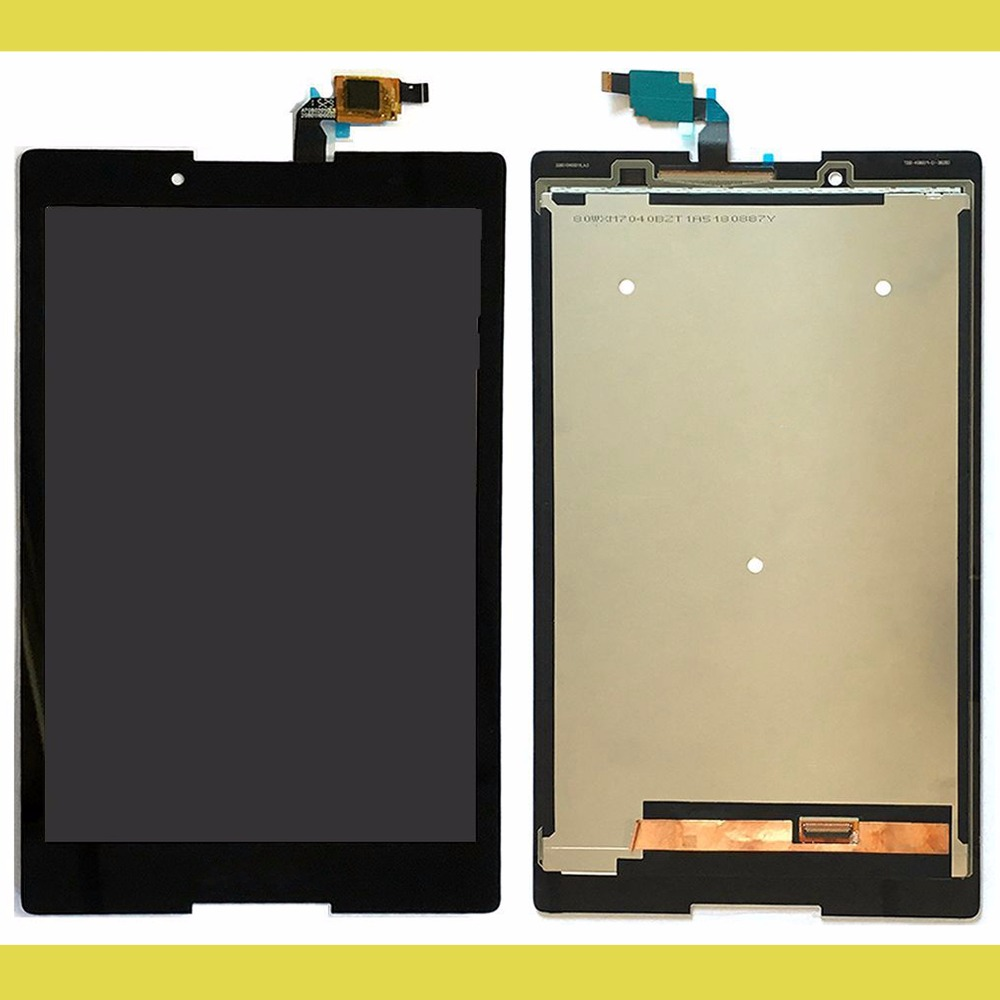 For Lenovo TB3-850F tb3-850 tb3-850F tb3-850M Tablet PC Touch Screen Digitizer+LCD Display Assembly Parts Black 100% Tested replacement lcd digitizer capacitive touch screen for lg vs980 f320 d801 d803 black