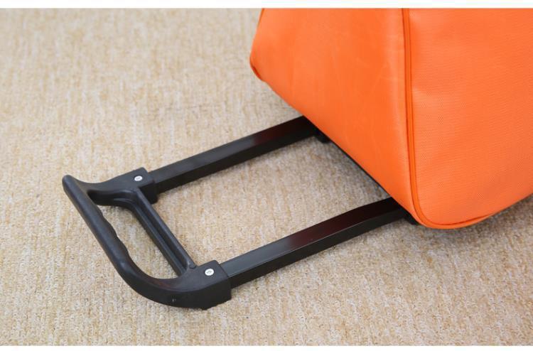 bagagem dos homens e das mulheres saco de viagem com rodas malas
