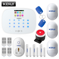 KERUI G19 RFID GSM Wireless Smart Home Security Alarm System DIY Kit with Auto Dial Smart Socket Motion Detector Senor Alarm