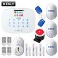 KERUI G19 RFID inalámbrica GSM casa inteligente sistema de alarma de seguridad DIY Kit con Dial Auto zócalo inteligente Detector de movimiento. alarma