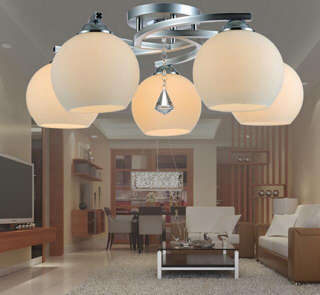 modern study lamp small living Modern ceiling light led bedroom lamproom lamp ceiling crystal lamp FG6657