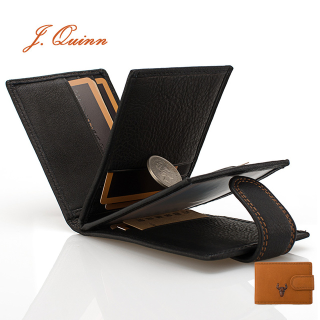 Jquinn 16 mini business cards holder wallet case id flap for men jquinn 16 mini business cards holder wallet case id flap for men women genuine reheart Images