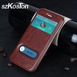 Étuis de téléphones portables en cuir à rabat pour iphone 5 5s 6 6s 7 étui de luxe pour iphone 5 5s Plus