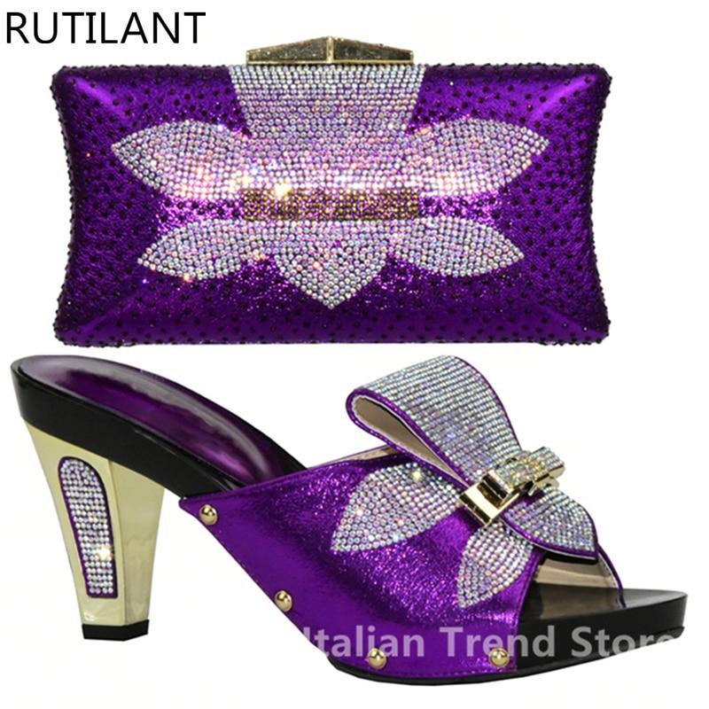 Para Partido púrpura Color En Plata plata Fijados Bolso Nigerianos Bolsa rojo Conjuntos peach Y Boda oro La El Africanos Las Zapato Zapatos Mujeres Negro azul xfvwqB8FnI