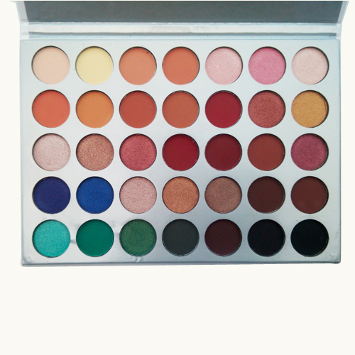 35 Color Eye shadow Palette Makeup Matte EyeShadow Palette Cosmetic Beauty serseul portable 180 color waterproof cosmetic makeup eyeshadow palette