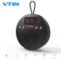 Vtin Bluetooth FM Speaker Deep Bass Stereo Sound Box Portable Wireless Outdoor Speaker Hands Free With Mic For iPhone XS/X/8/7/6