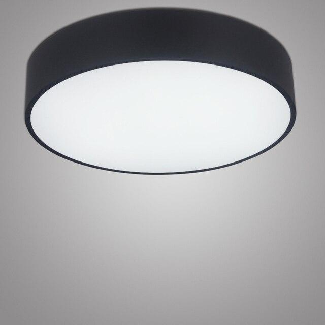 מבריק מינימליזם מודרני LED תקרת אור עגול אור LED מקורה מנורת תקרה יצירתי OG-18