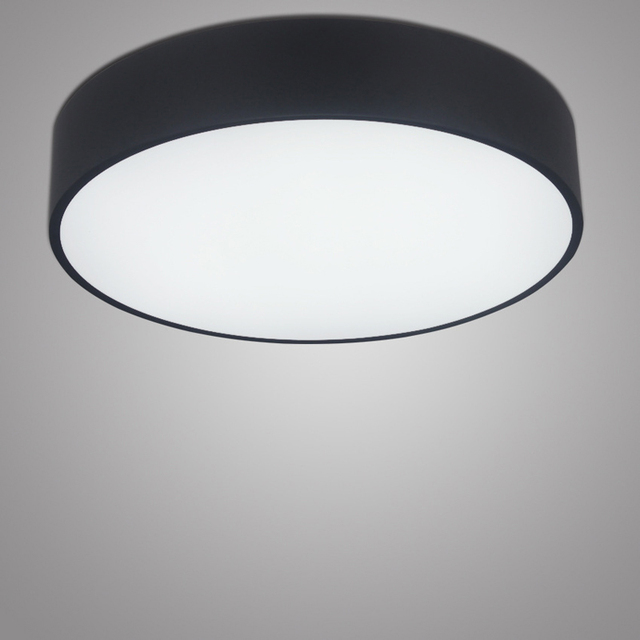 Minimalis modern led ceiling light putaran dalam ruangan dipimpin cahaya langit langit lampu kepribadian kreatif