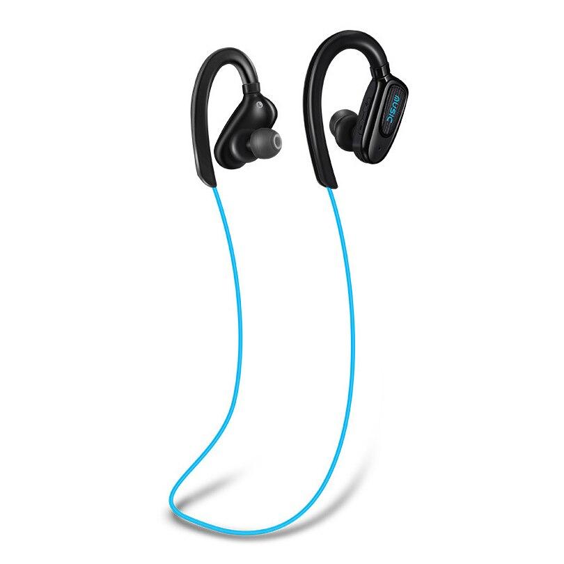 2.4GHz bluetooth stereo headset energy saving sports IPX4 sweat proof bluetooth handsfree earphone neck hanging design