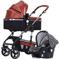 High landscape baby strollers can sit can be folded lying baby baby four seasons general light basket hand trolley